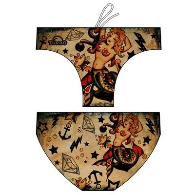 6518d4258aaf Bañador Hombre Turbo Sirenas Tattoo